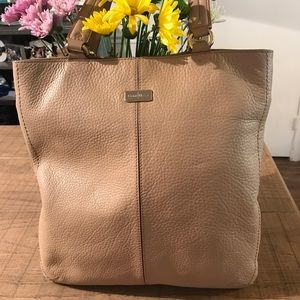 Cole Haan Tan Leather Tote